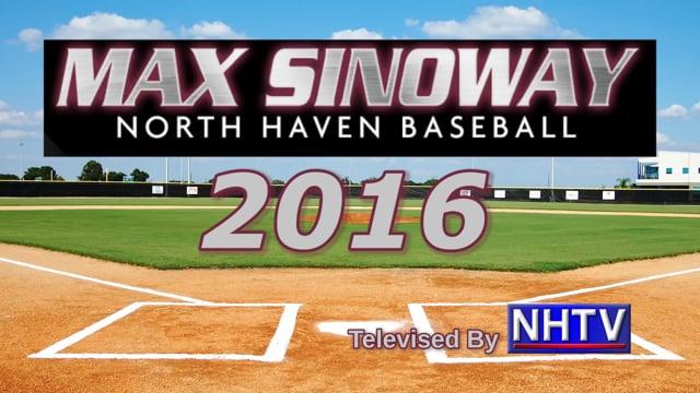 Max Sinoway Opening Day 2016