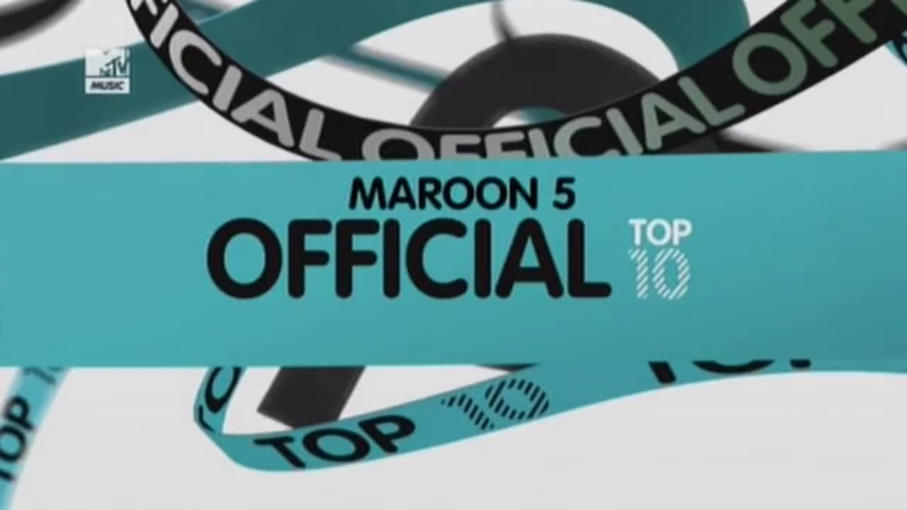 Maroon 5 Official Top 10
