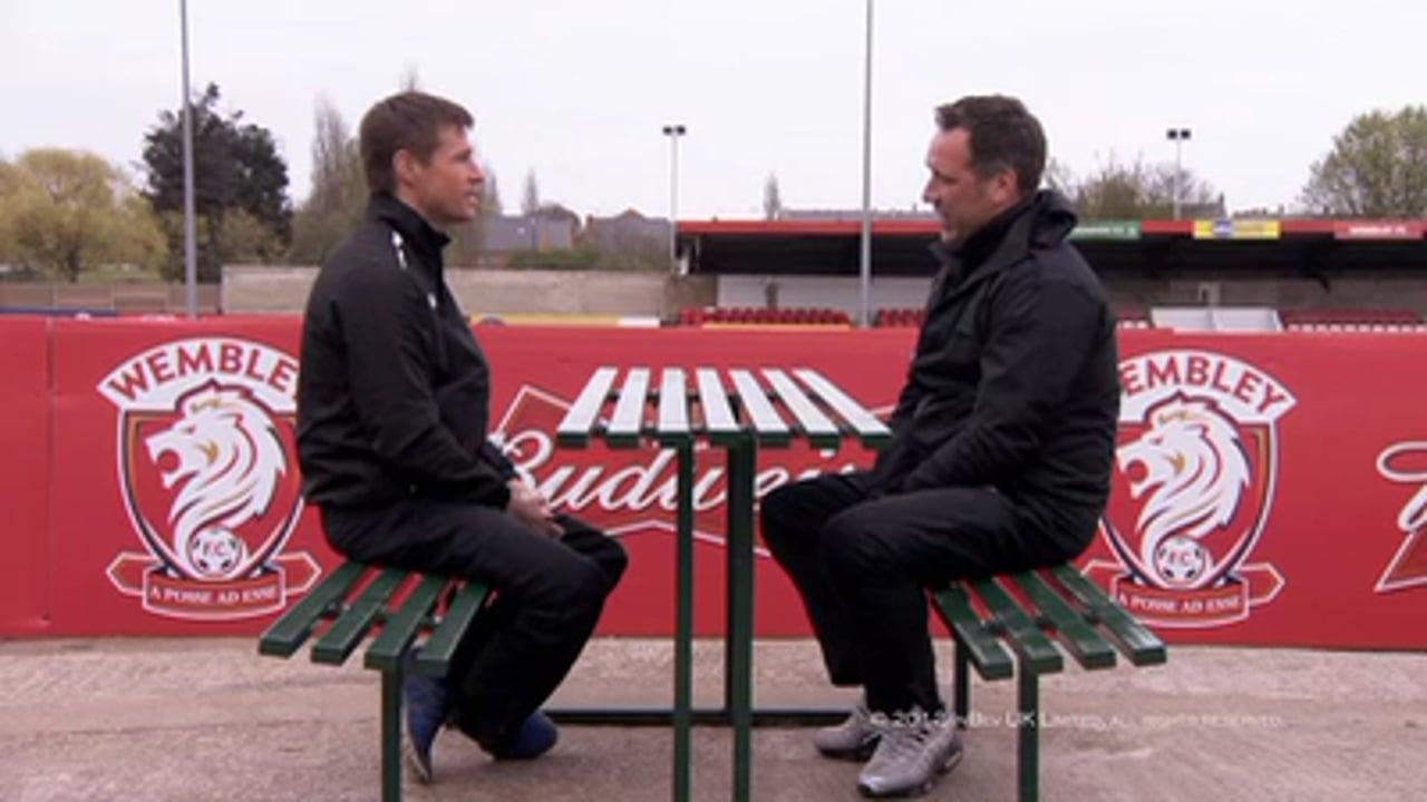Brian McBride + David Seaman
