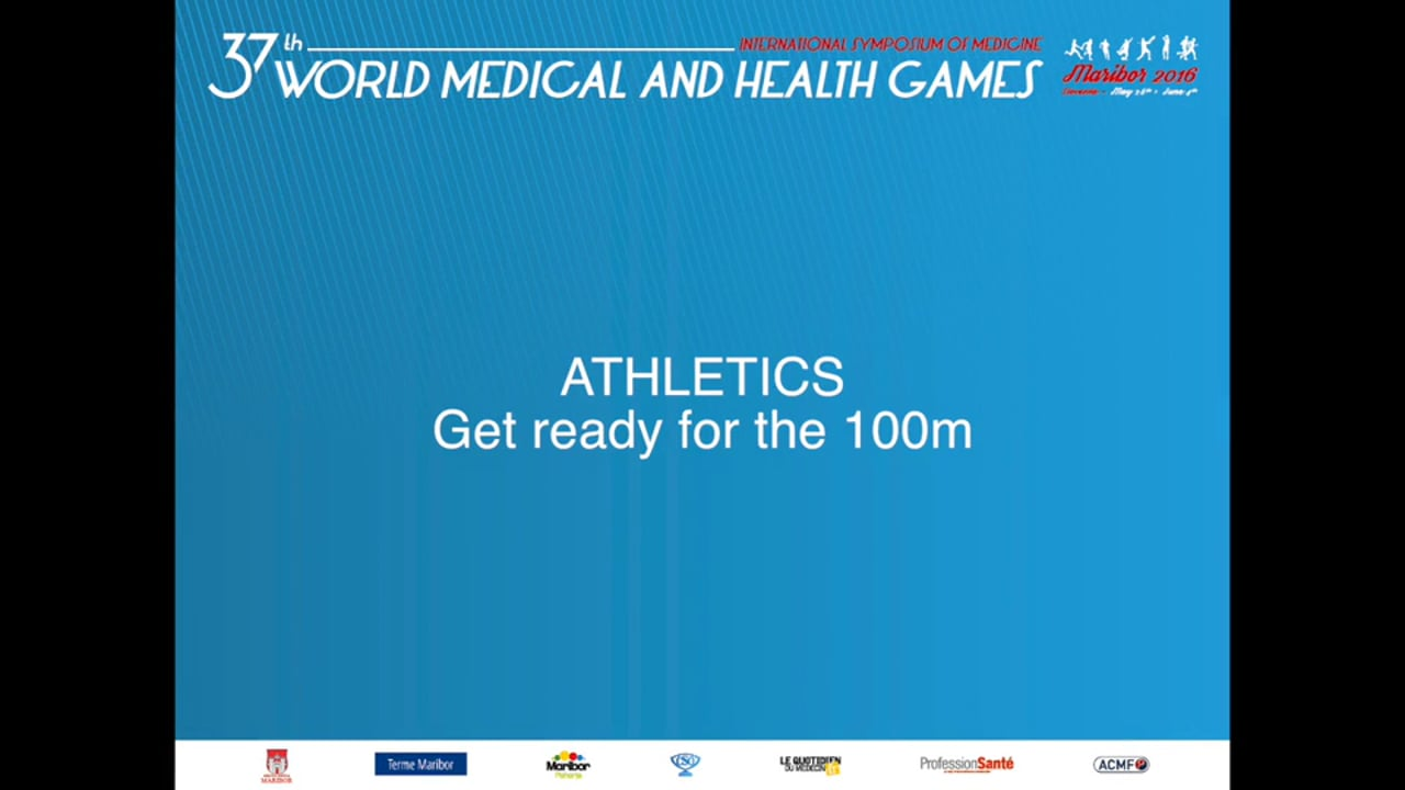 MEDIGAMES 2016, Tips to run the 100m with Phil Heaton