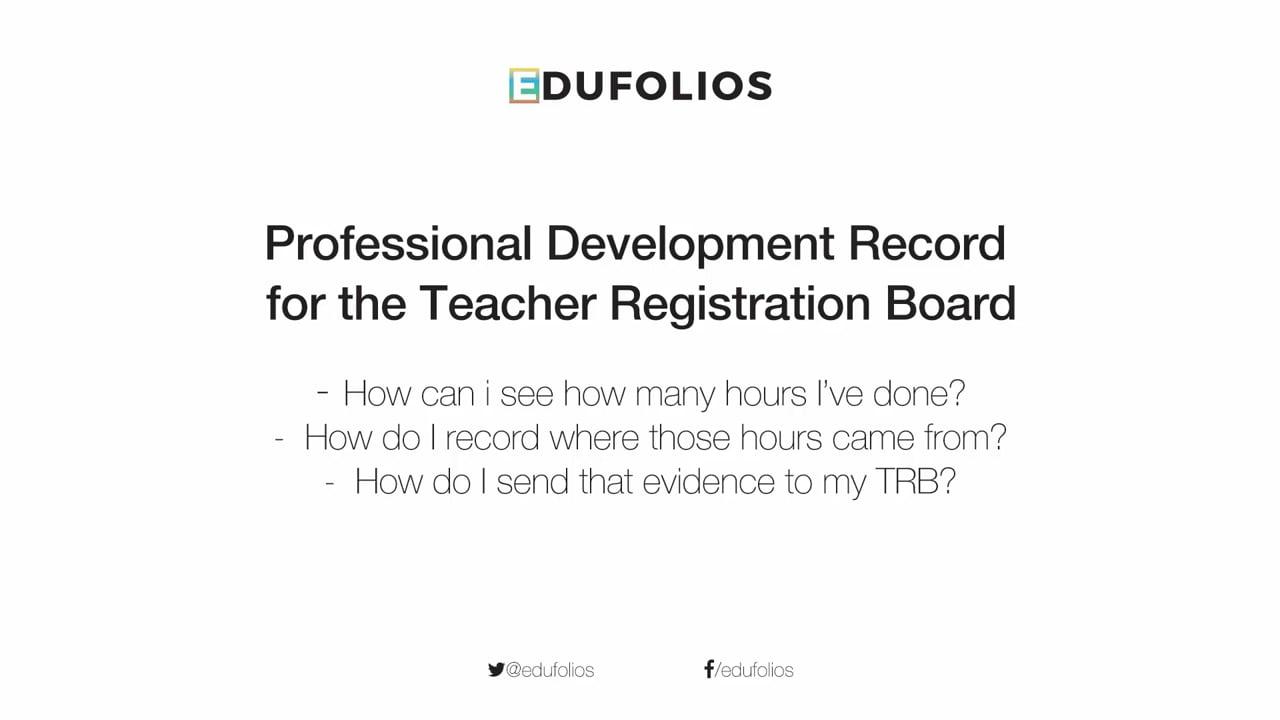 Teacher Registration Requirements