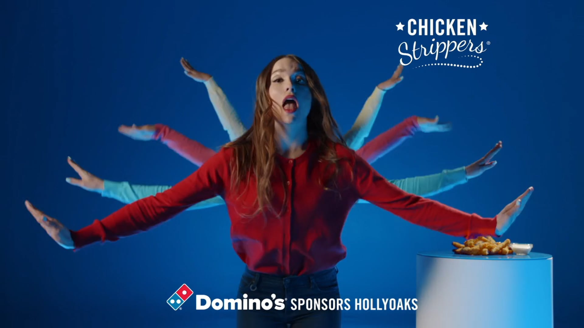 HollyOaks Dominos Ident Chicken Dippers