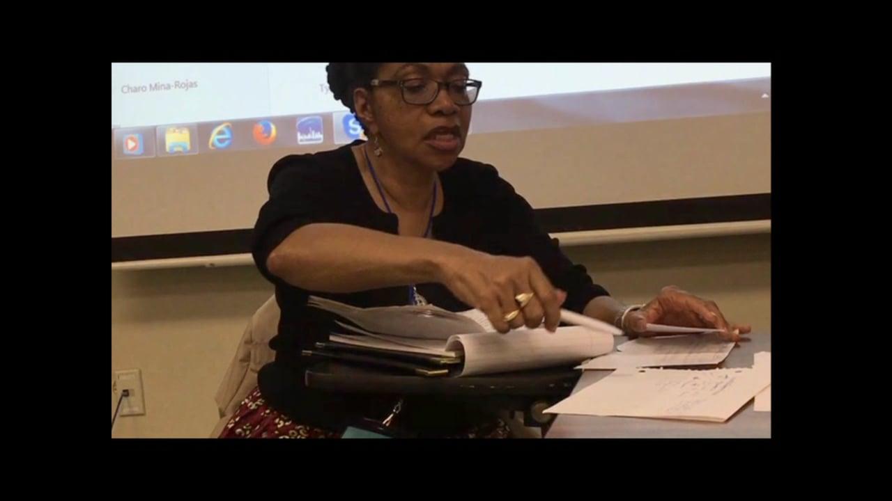 OpenCulture - Black Agenda Repport @ The Left Forum 2016