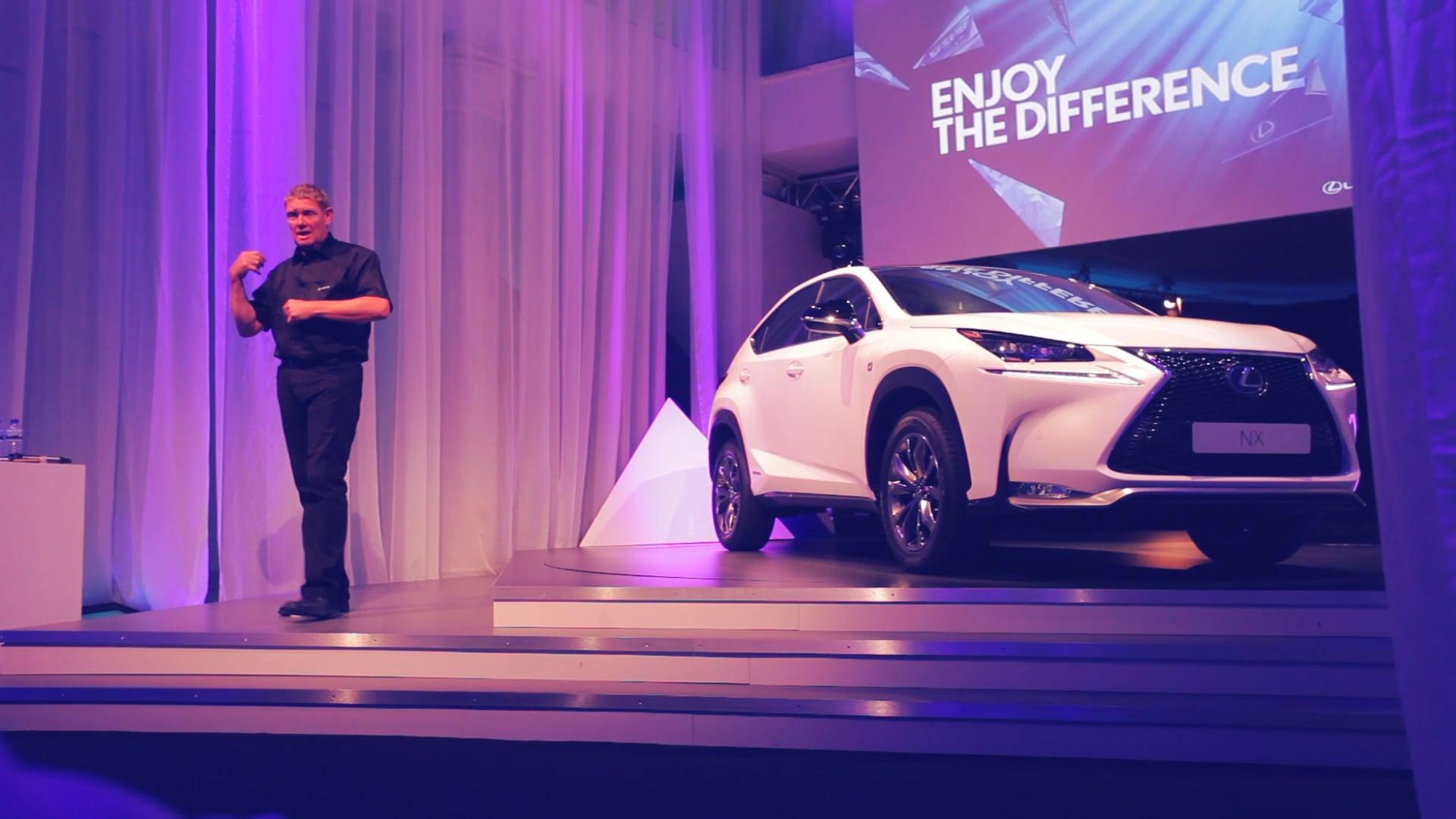 Presentación europea del nuevo Lexus NX