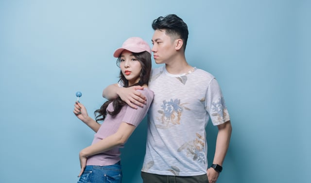 PINK &BLUE Couple Look情侶裝