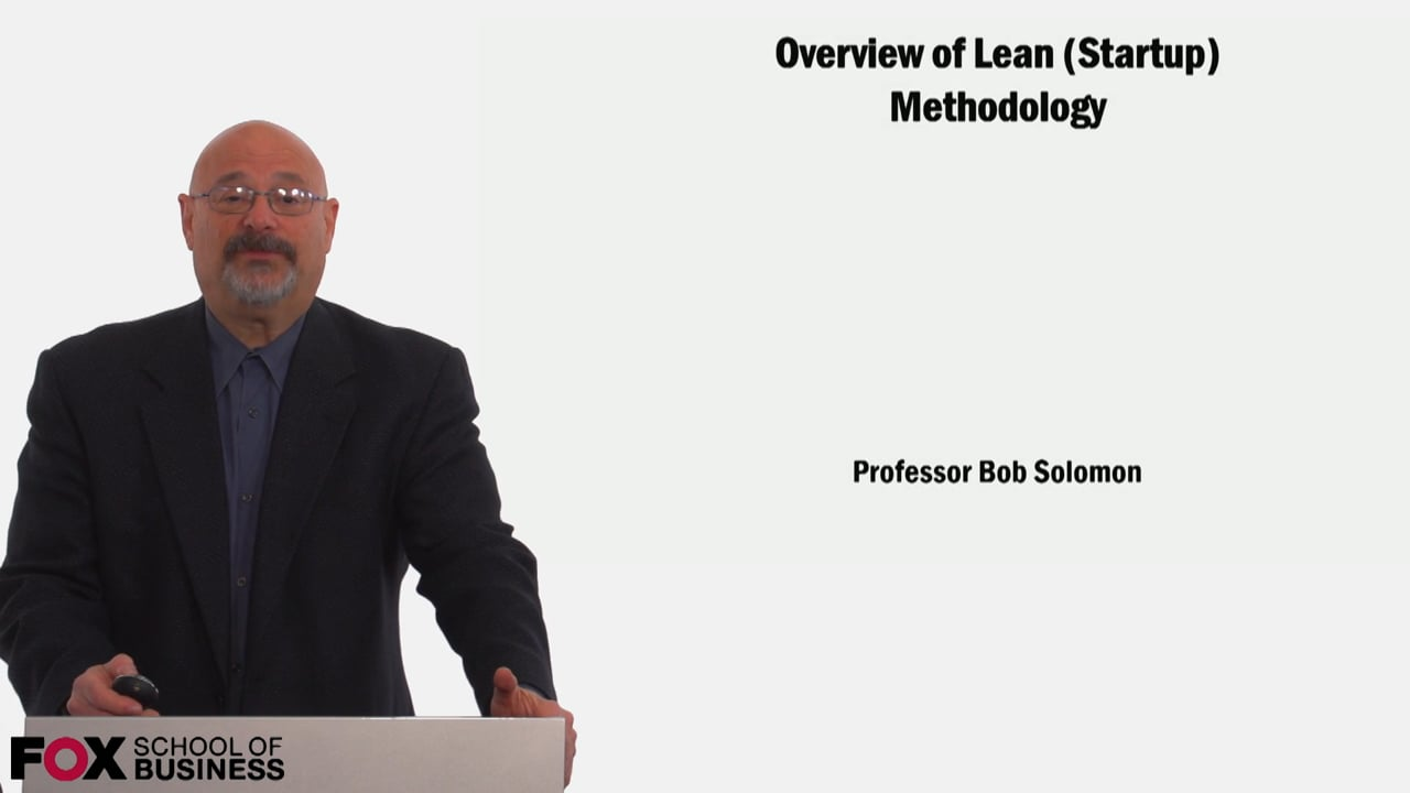 59039Overviewof Lean Startup Methodology