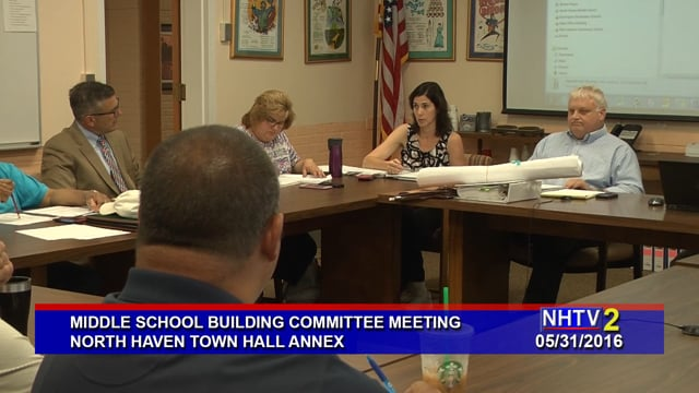 Middle School Building Committee -05/31/2016