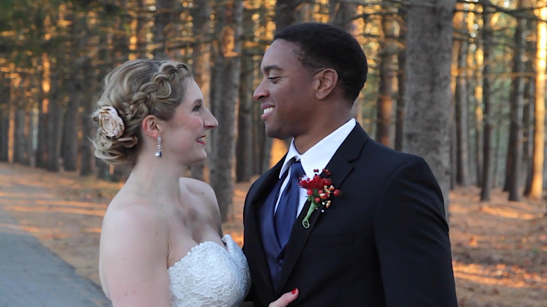 Brooke & Machel's Highlight Wedding Video