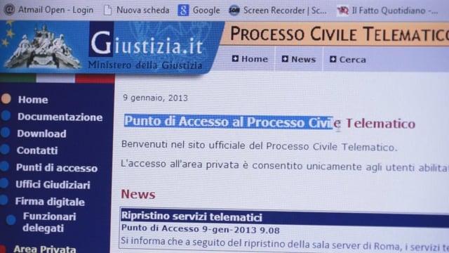 Il Tribunale di Firenze ed il pct