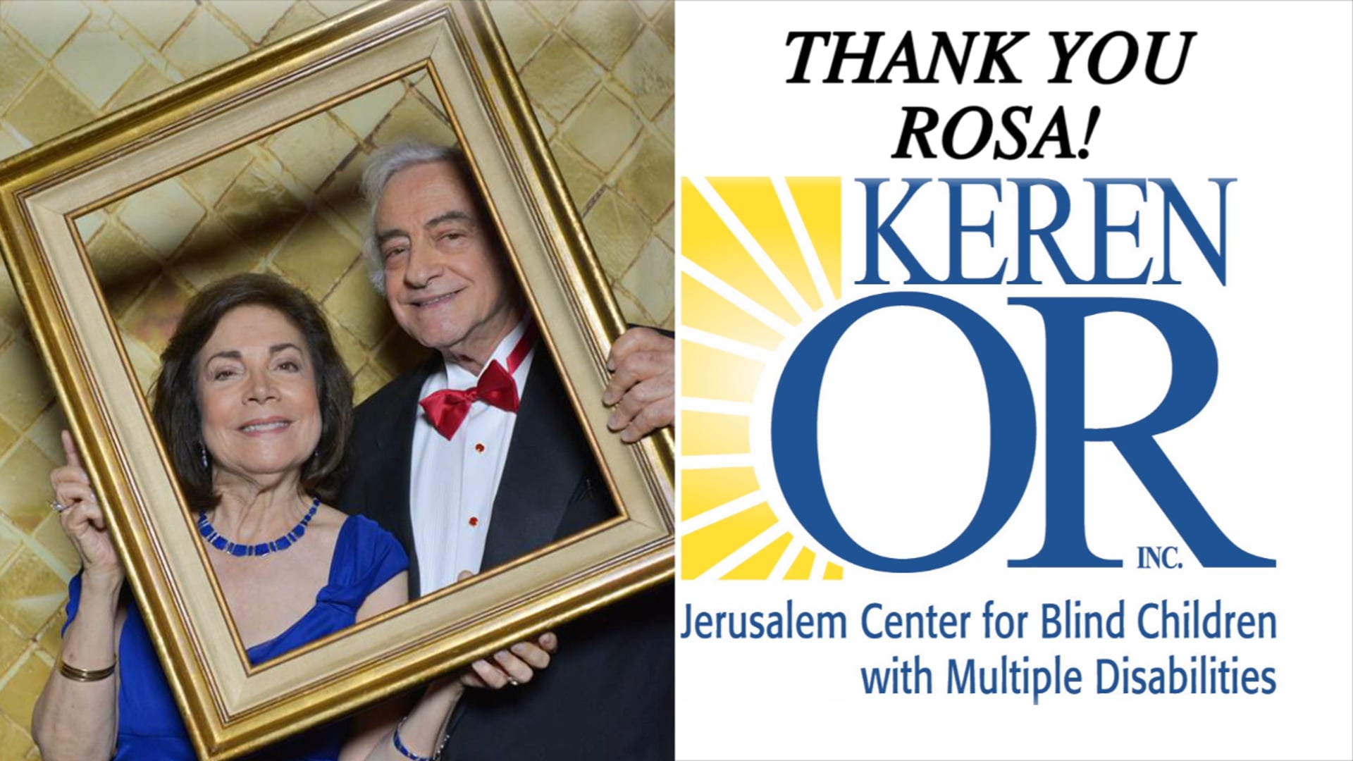 Thank You Rosa!