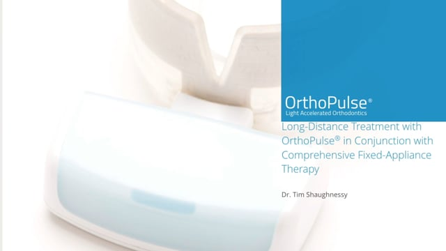 Dr. Tim Shaughnessy - Long Distance Treatment with OrthoPulse®