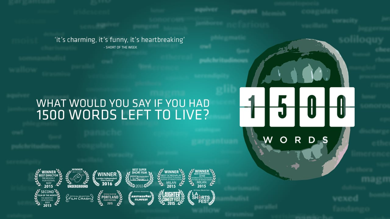 1500 Words | Short Film of the Day