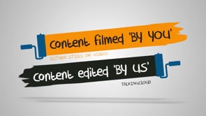 You Shoot, We Edit - talkingcloud