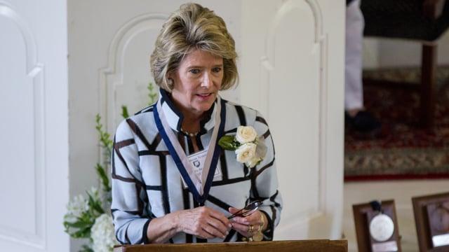 Millbrook Medal Award Winner Kristyn E. Reid '74