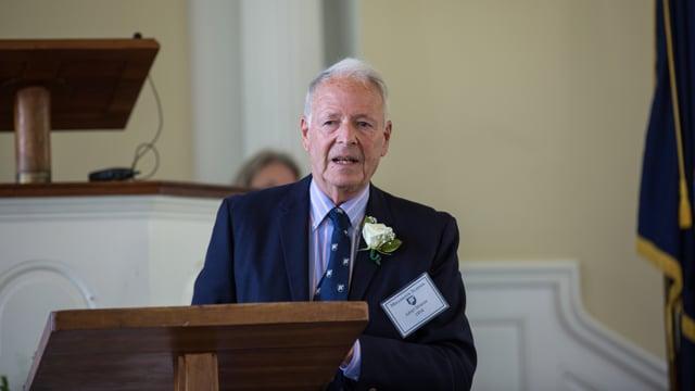 Edward Pulling Community Service Award Winner Dr. Julian M. Strauss '54