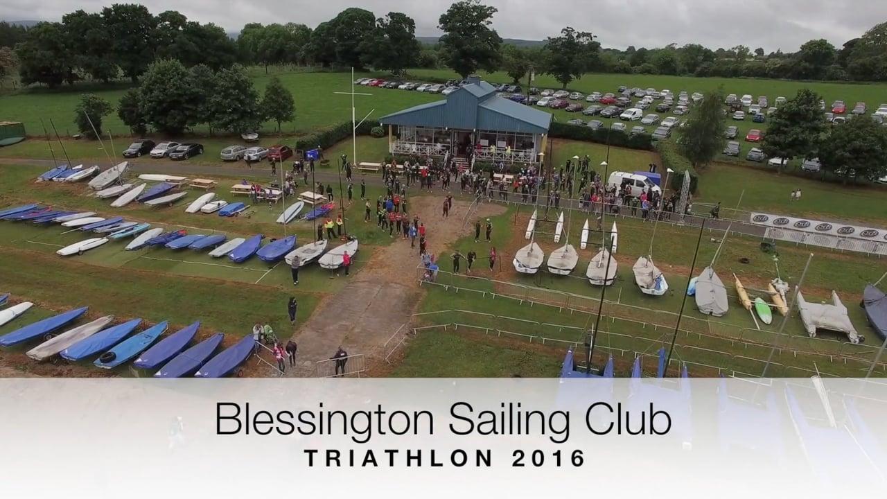 Blessington Sailing Club -  Triathlon 2016