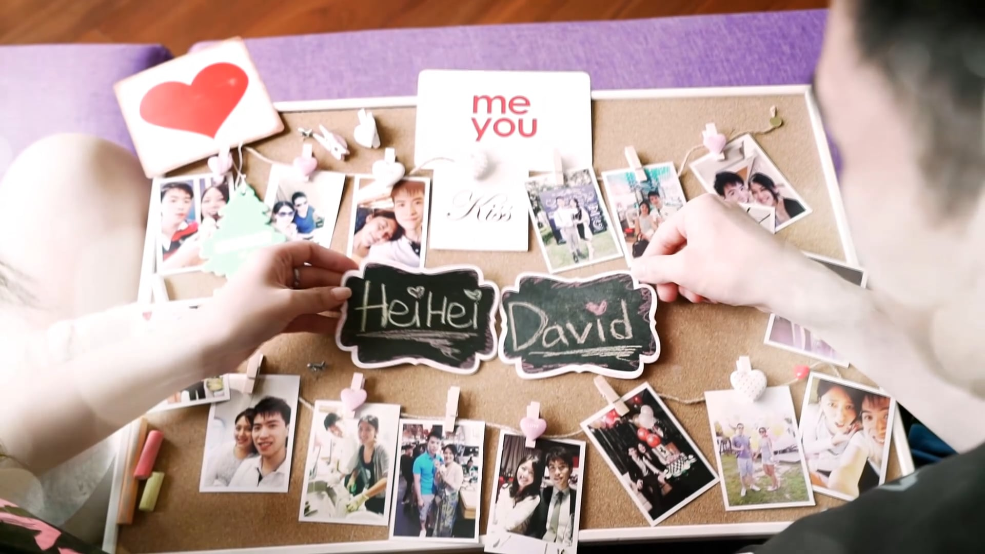 Hei Hei & David_Love Slide show