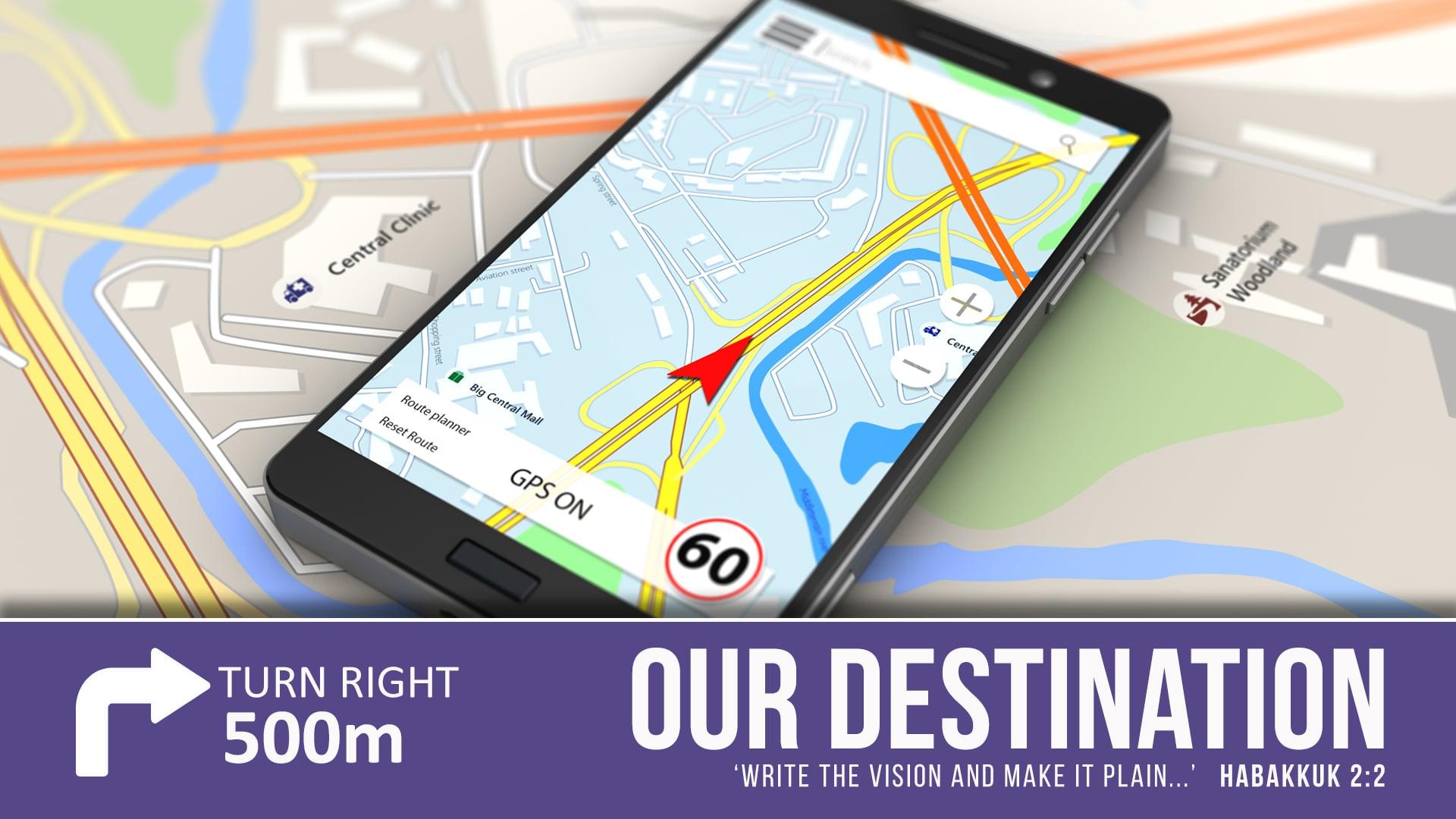 Our Destination - Part 2