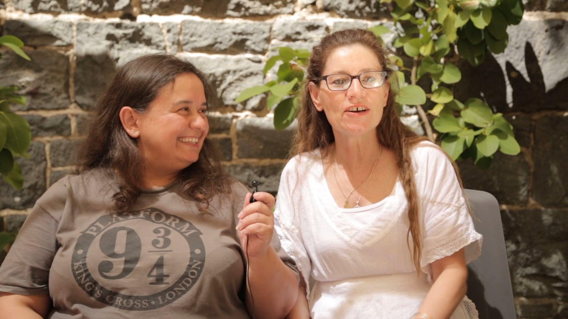 Women share about WIL host Natalie Benhayon