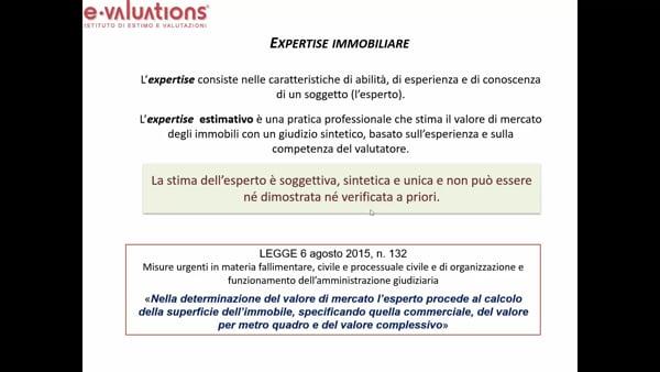 EXPERTISE IMMOBILIARE