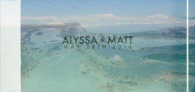 Alyssa & Matt