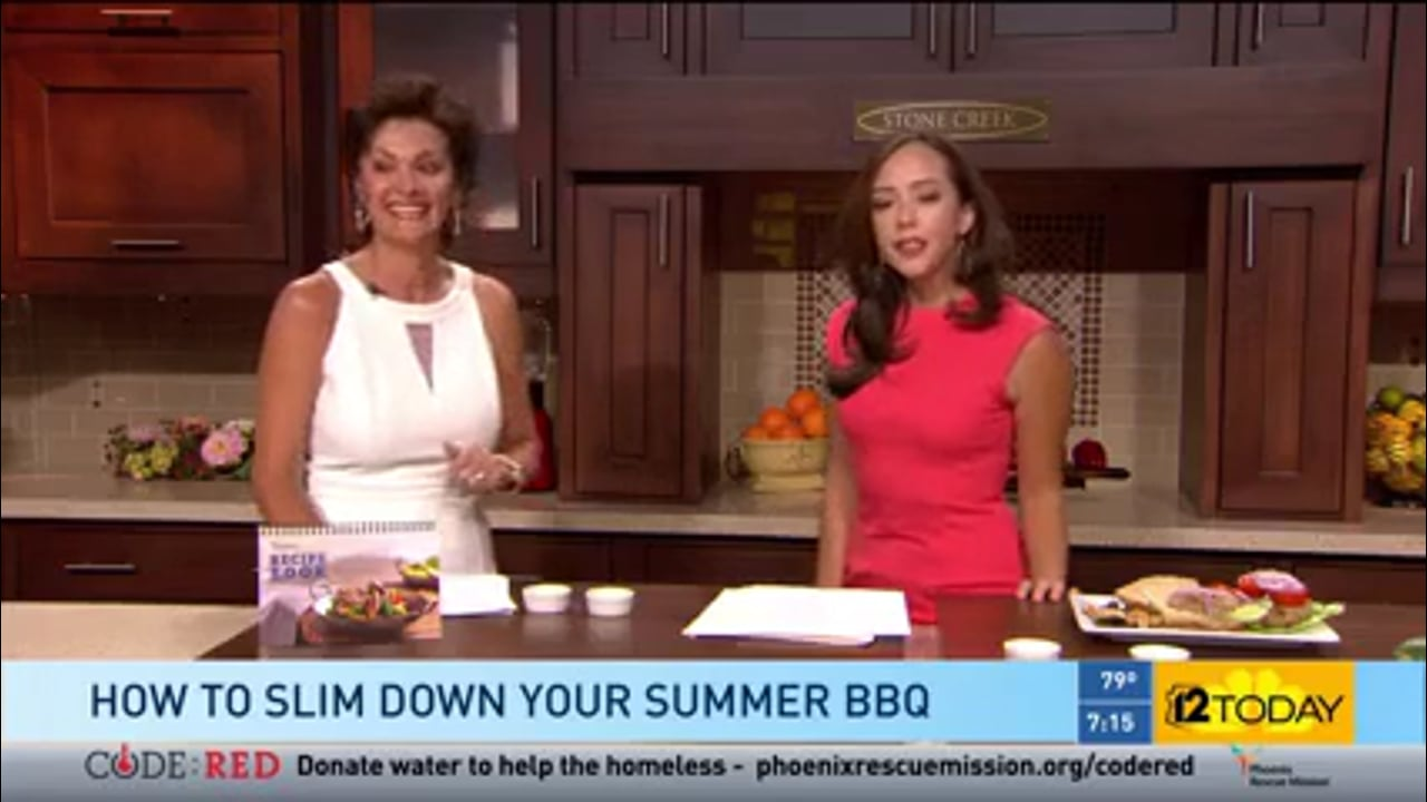 Arizona Medifast Owner Appears on Channel 12 Discussing Summer BBQ Tips
