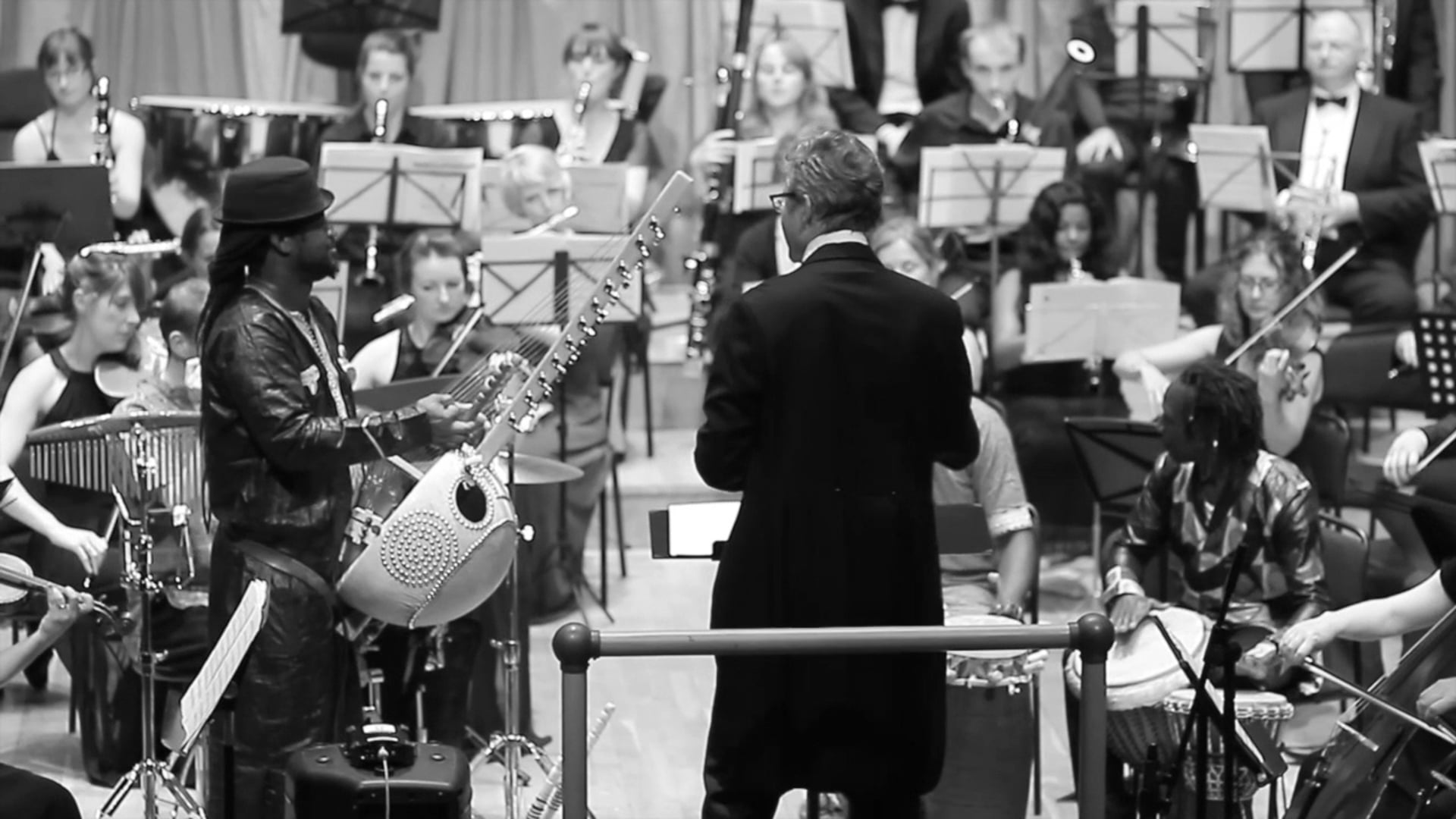 Excerpt from Concerto for Kora and Orchestra (High Sheriff Concert 2016)