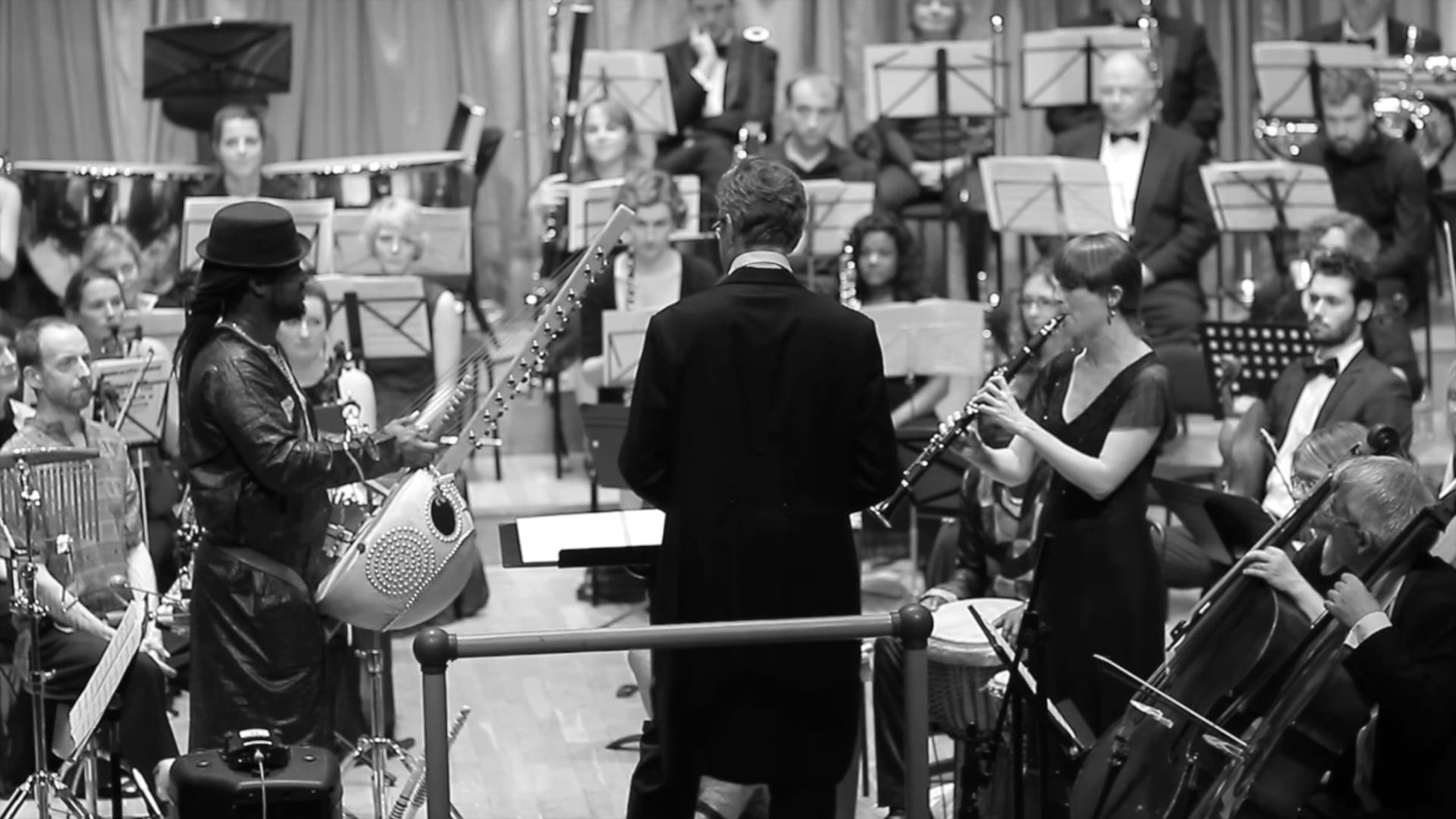 Concerto for Kora and Orchestra excerpt with Mamadou Cissokho & Sophie Wilsdon Solo