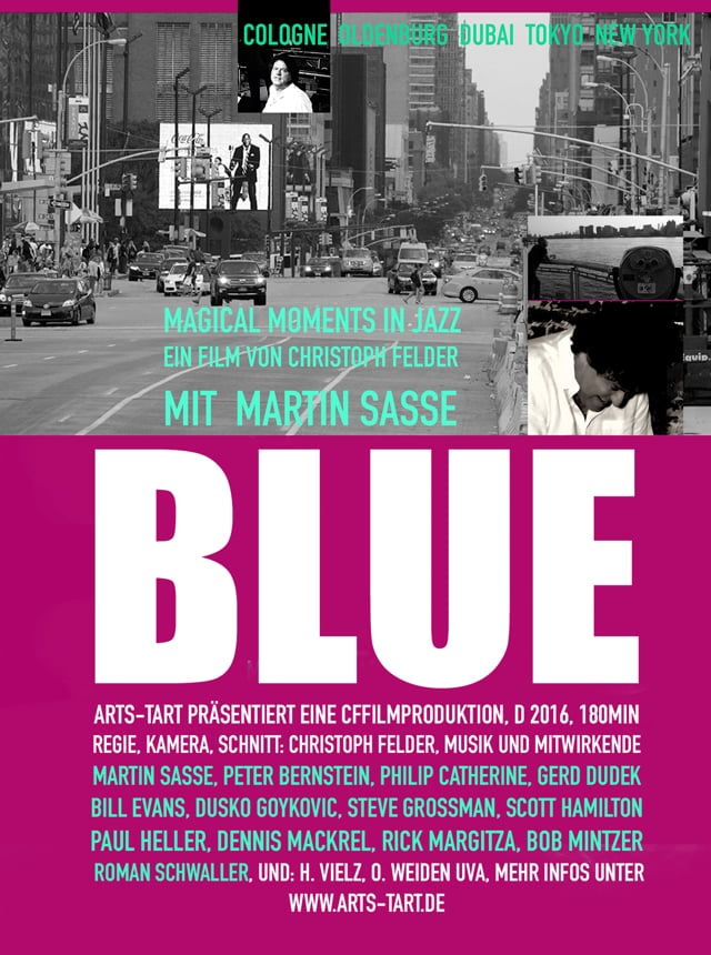 BLUE - Magical moments in Jazz mit Martin Sasse