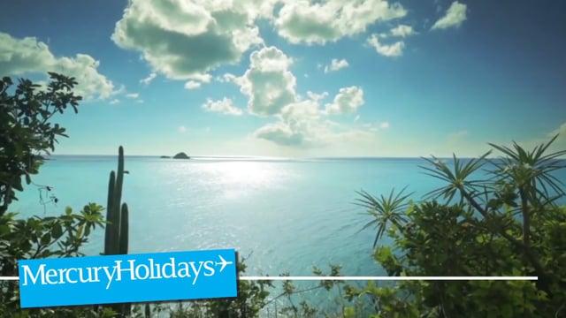 The golden shores of Antigua