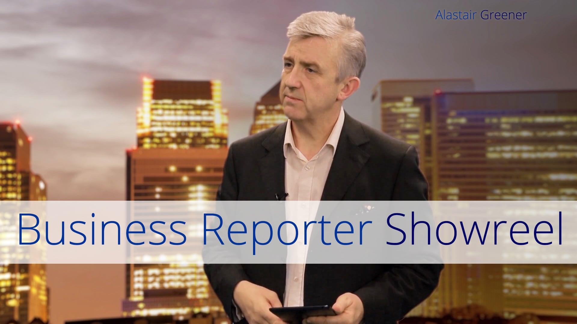 Alastair Greener - Business Reporter