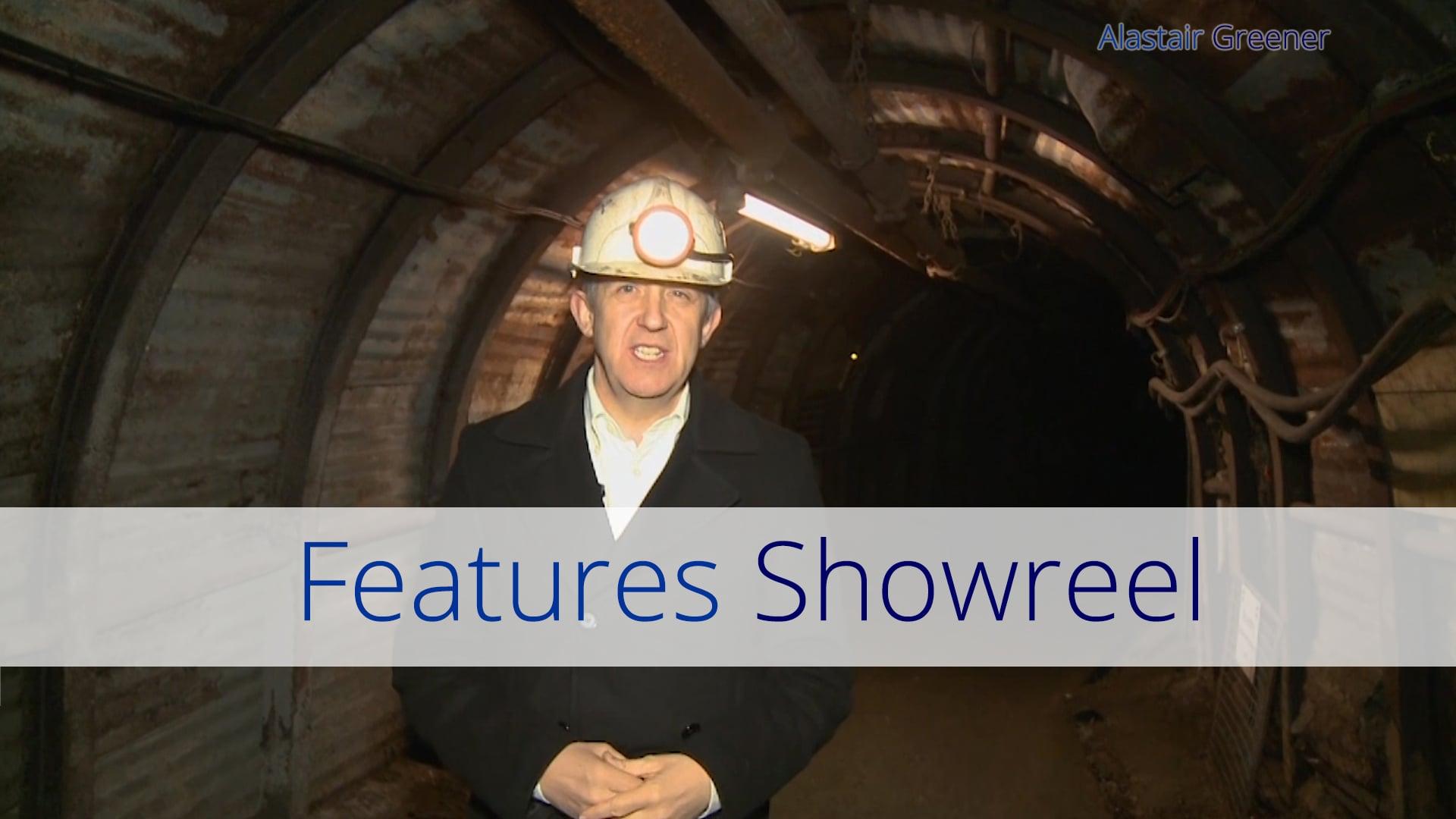 Alastair Greener - Features Showreel