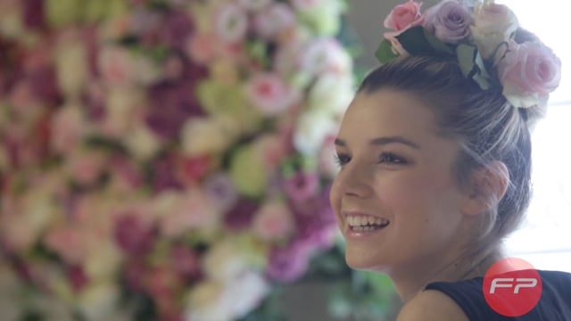 """Making of """"The Amors Floral Design"""" Fashion Shoot Test"""
