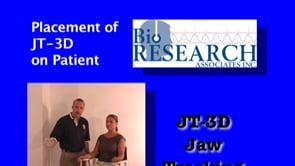 JT-3D Jaw Tracking – Placement on Patient