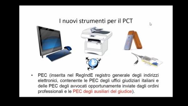 PCT - Il Processo Civile Telematico tra regole e prassi