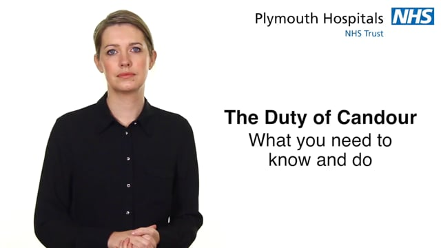 2742R.PLY Duty of Candour What you need to know and do