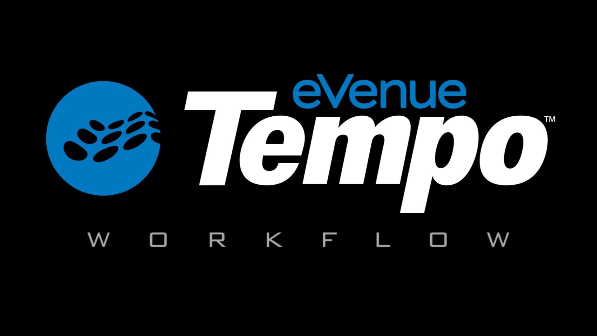 eVenue Tempo Workflow