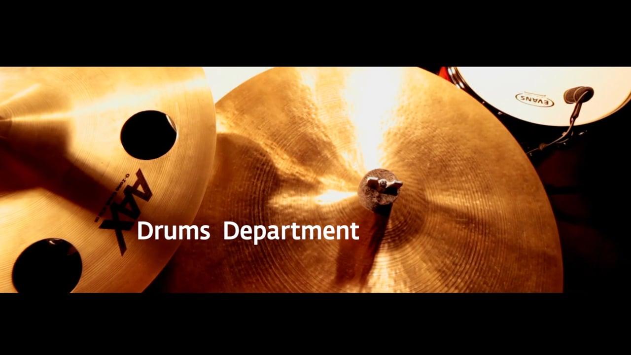 Drums Department Promo