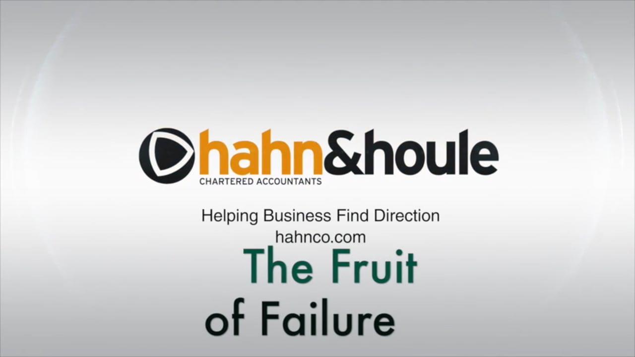 The Fruit of Failure