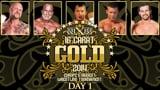 wXw 16 Carat Gold 2014 - Night 1