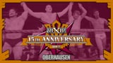 wXw 15th Anniversary Tour 2015: Oberhausen