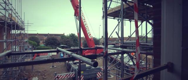 Heathfield Court Construction Timelapse
