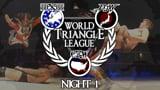wXw / CZW / BJW World Triangle League 2014 - Night 1