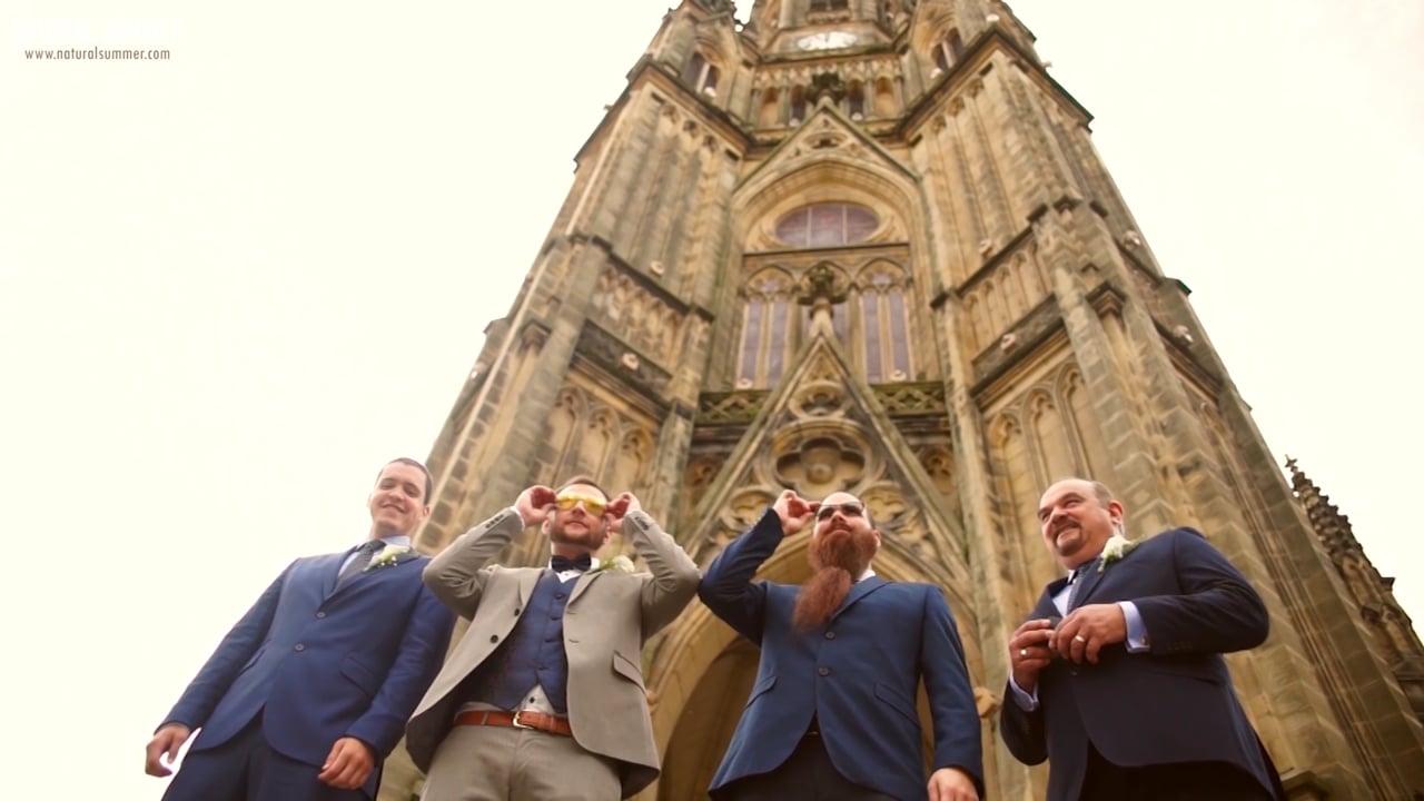 Natural Summer  Boda en la Catedral de Buen Pastor / Ni Neu Kursaal / Donostia San Seabstián