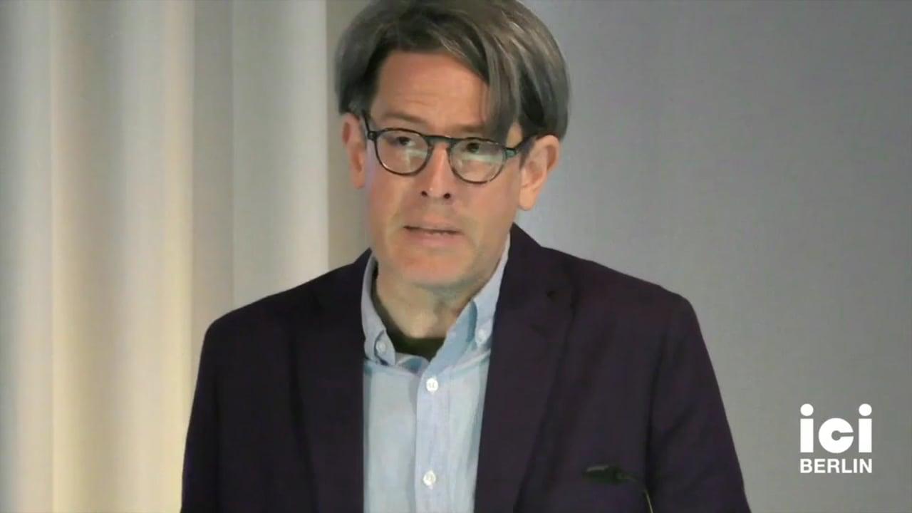Talk by Karl Schoonover