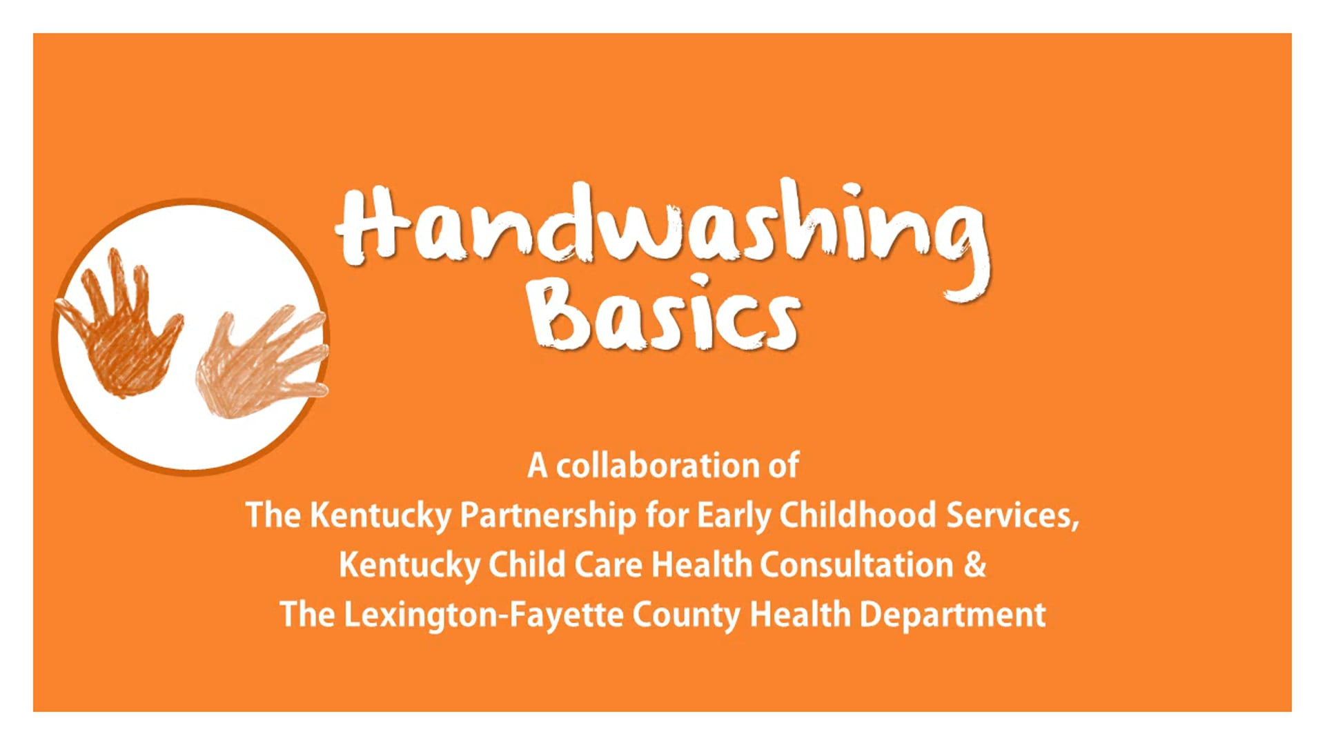 Handwashing Basics
