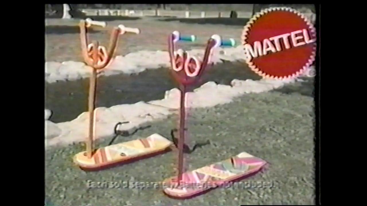 Mattel Hoverboard Commercial