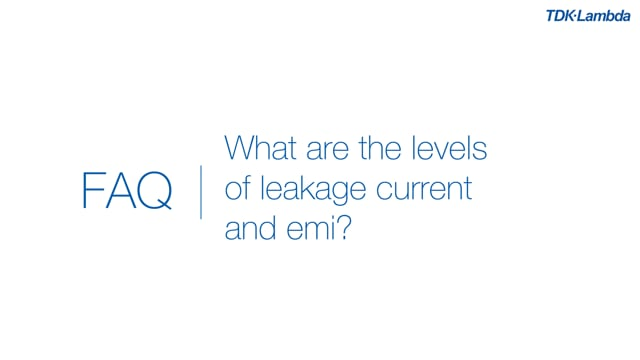 What are the levels of leakage current for CUS350M power supplies?