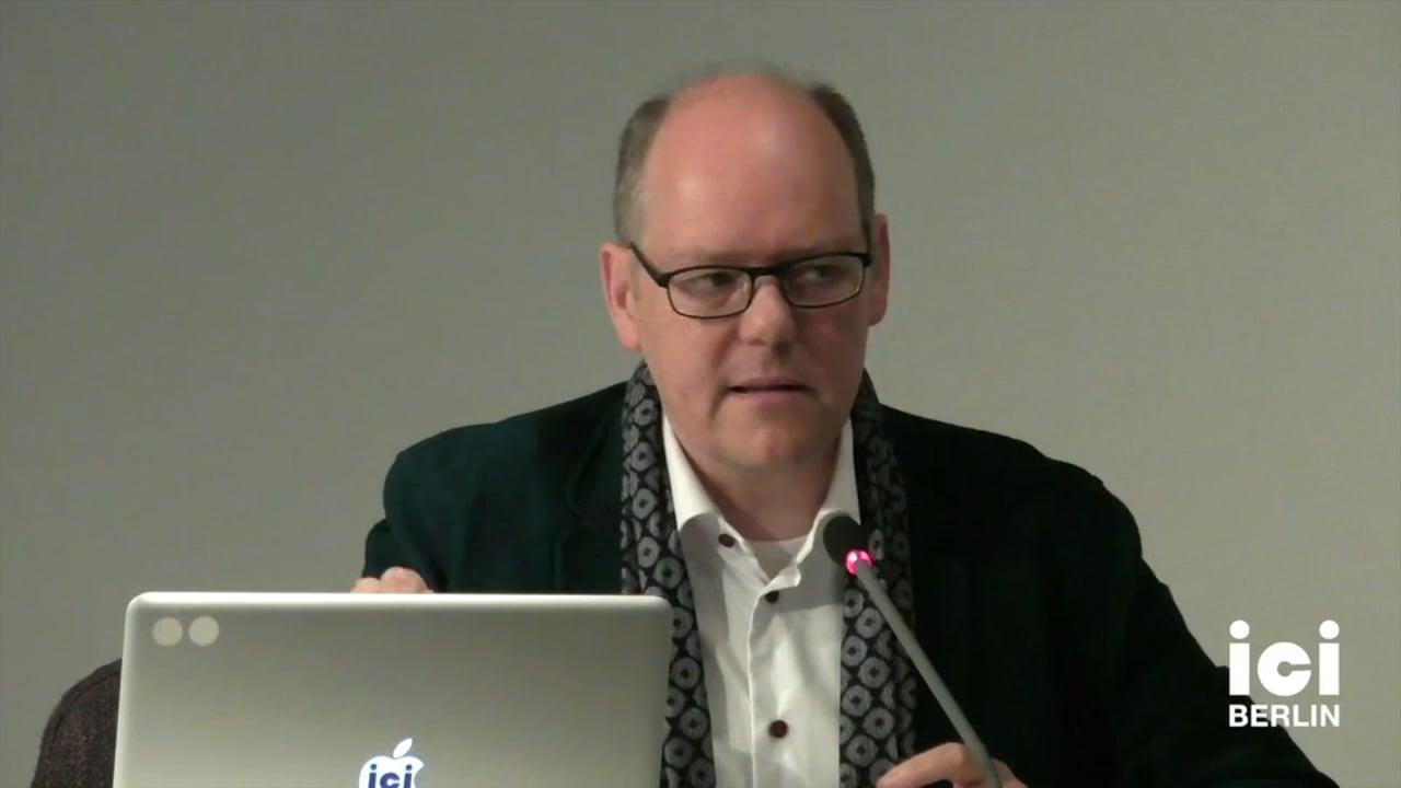 Talk by Peter Geimer