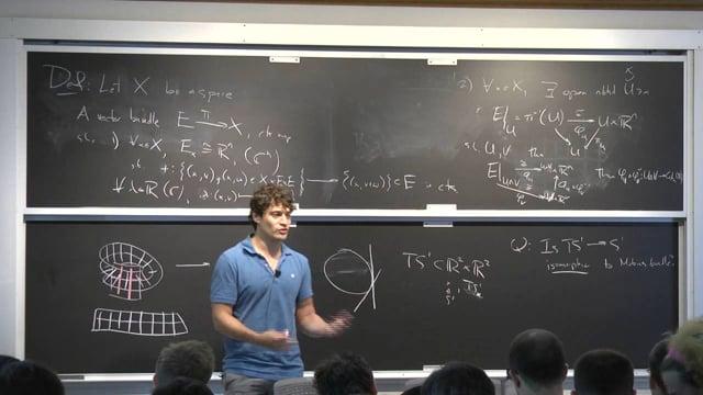 Vector Bundles 1 (Jesse Wolfson)